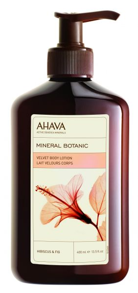 AHAVA Mineral Botanic švelnus kūno losjonas, 400ml.