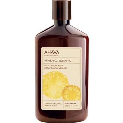 Mineral Botanic Cream wash, 500ml. Kūno prausiklis Ananasas ir Baltasis persikas