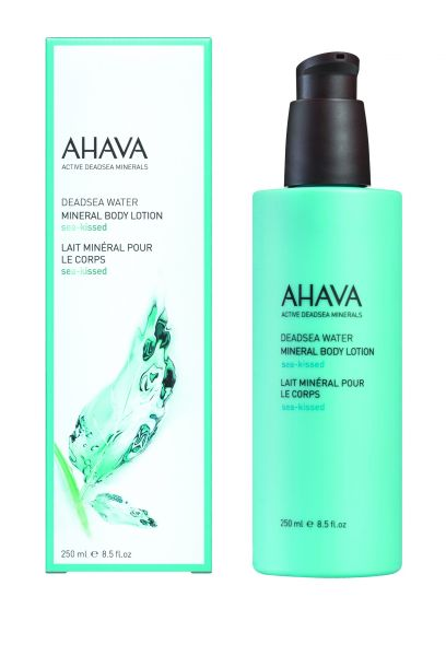 AHAVA Mineral Body Lotion Sea kissed, 250ml. Mineralinis drėkinantis kūno losjonas Jūros bučinys