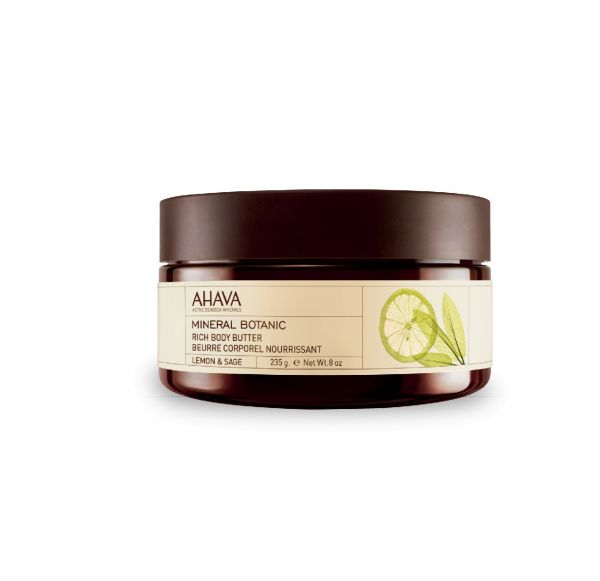 AHAVA BODY BUTTERLEMON AND SAGE, 235g, Kūno sviestas Lemon ir Sage