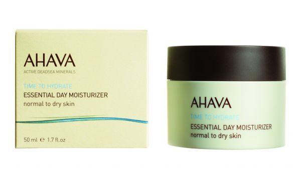 AHAVA Drėkinantis dieninis veido kremas normaliai ir sauai odai, 50ml.