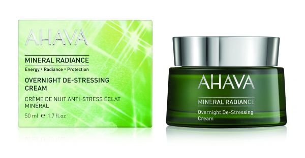 Mineral Radiance Overnight De Stressing Cream l
