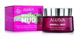 Mineral mud Brightening and hydrating facial tretment mask