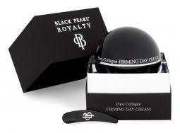 DSC01511 EditJuodasis perlas Veido odą išlyginantis dieninis kremas su grynuoju kalogenu, 50ml BLACK PEARL ROYALITY