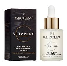 PURE MINERAL VITAMIN C RECOVERY ANTI  WRINKLE SERUM