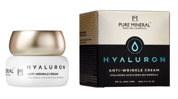 PURE MINERAL HYALURON ANTI   WRINKLE CREAM