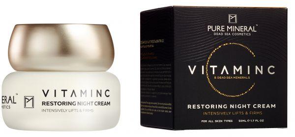 PURE MINERAL VITAMIN C RESTORING NIGHT CREAM, 50ml