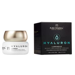 PURE MINERAL HYALURON LUMINOUS NIGHT RECHARGE CREAM, 50ml